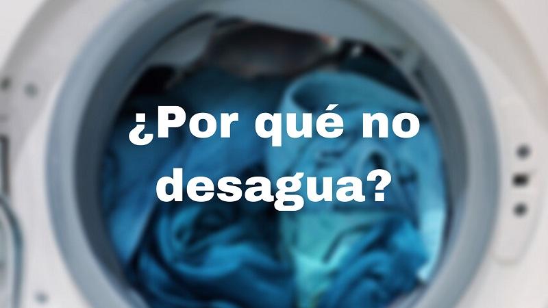lavadora no desagua